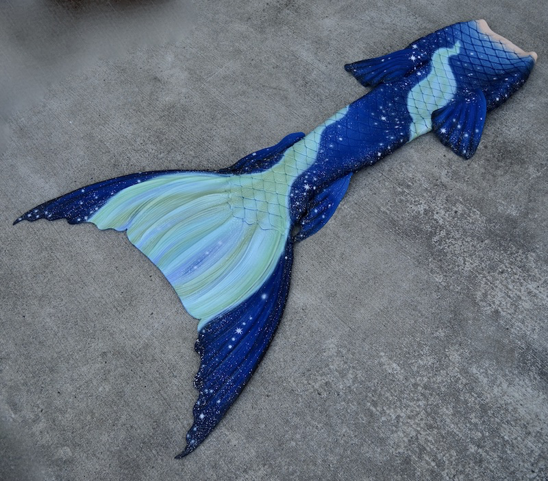 Completed 2020 | Hermes Starry Night Tail | Galatea Hip Fins, Ione Ankle Fins