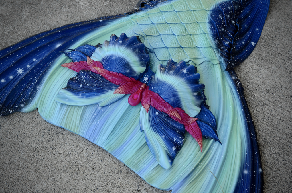 Completed 2020 | Starry Night Mermaid Top